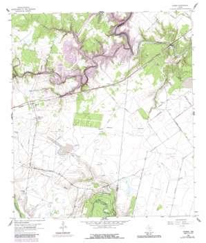 Fannin topo map