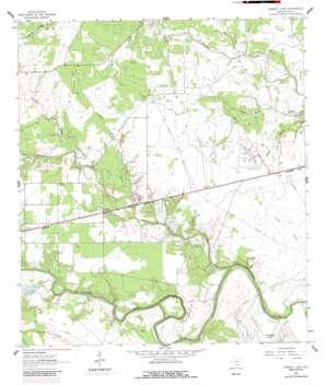 Hensley Lake USGS topographic map 28097f3