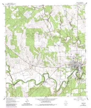 Goliad USGS topographic map 28097f4
