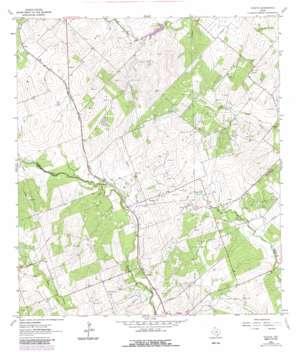 Tulsita USGS topographic map 28097f7