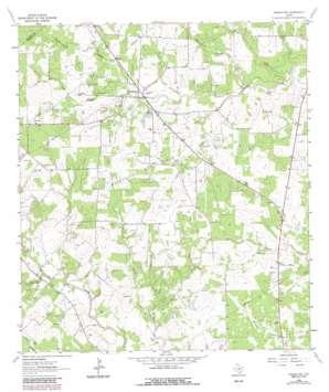 Weesatche USGS topographic map 28097g4