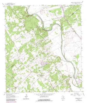 Mission Valley topo map