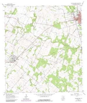 Yorktown West topo map