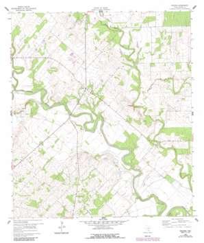 Helena topo map