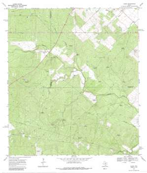 Clegg USGS topographic map 28098a3