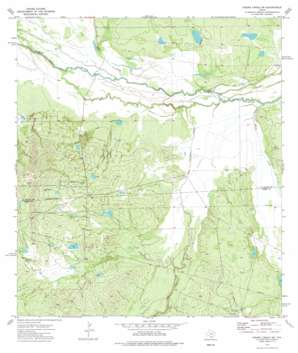 Piedra Creek Sw topo map