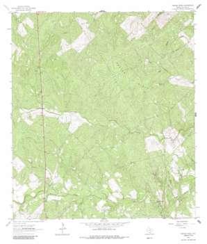 Crater Ridge USGS topographic map 28098b1