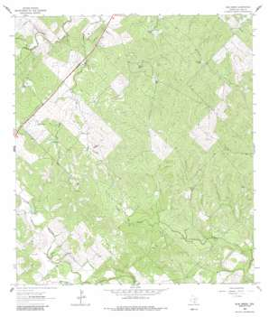 Elm Creek topo map