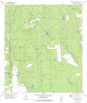 Piedra Creek Nw USGS topographic map 28098b8