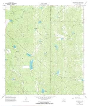 Briscoe Ranch topo map
