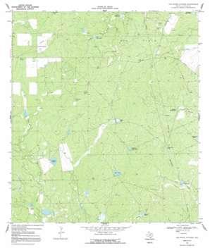 The White Kitchen topo map