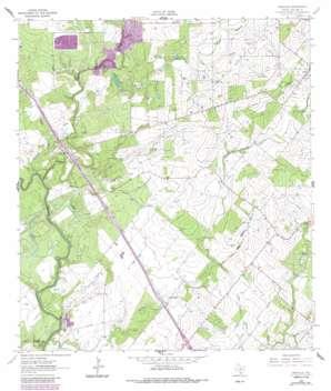Oakville topo map