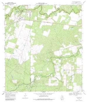 Calliham USGS topographic map 28098d3