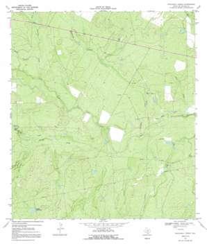 Rockaway Creek topo map