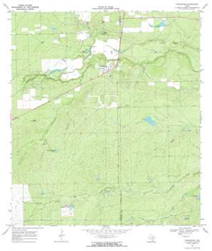 Fowlerton USGS topographic map 28098d7