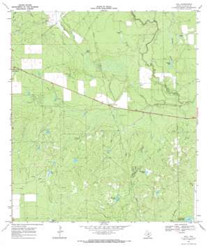 Dull USGS topographic map 28098d8