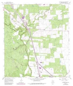 Comanche Hills USGS topographic map 28098e2