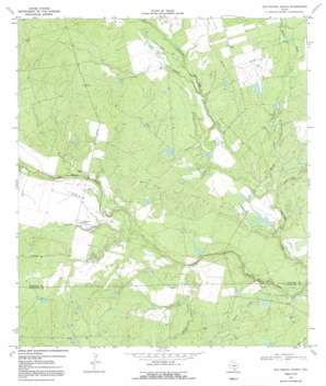 San Miguel Ranch topo map