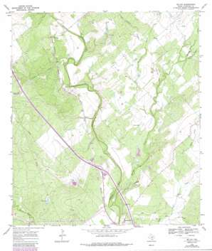 Mccoy USGS topographic map 28098g3