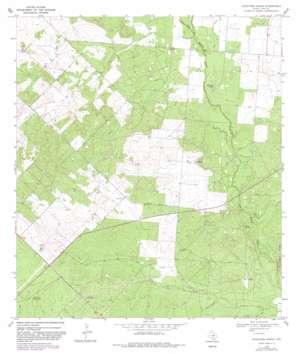 Keystone Ranch topo map
