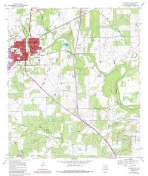 Pleasanton USGS topographic map 28098h4