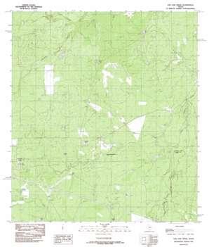 Live Oak Creek USGS topographic map 28099a2