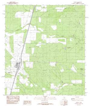 Encinal USGS topographic map 28099a3