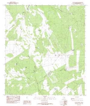 Galvan Ranch USGS topographic map 28099a6