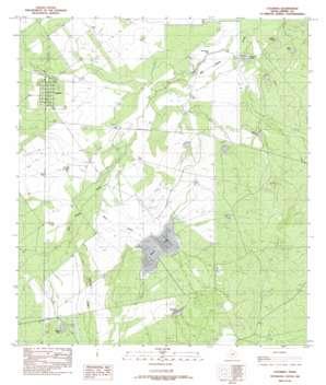 Catarina topo map