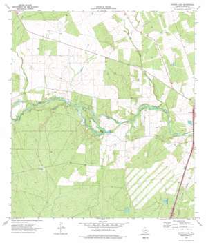 Harris Lake USGS topographic map 28099d3