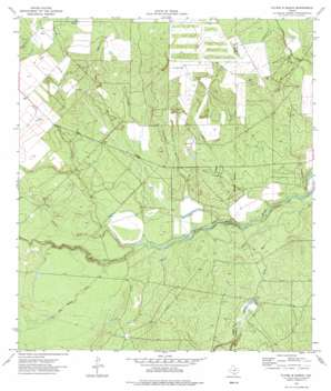 Flying W Ranch USGS topographic map 28099d4