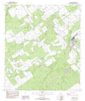 Asherton USGS topographic map 28099d7