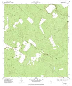 Burns Ranch USGS topographic map 28099e1
