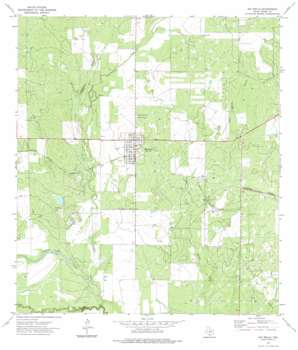 Big Wells USGS topographic map 28099e5