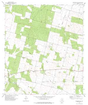 Woodward Ne topo map