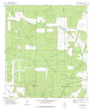 Snake Creek topo map