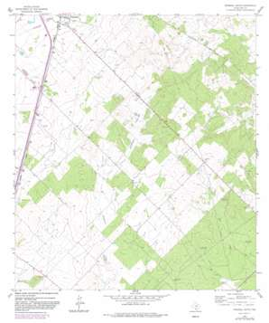 Pearsall South USGS topographic map 28099g1