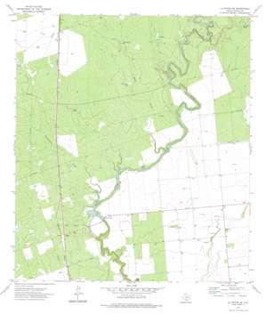La Pryor Se topo map