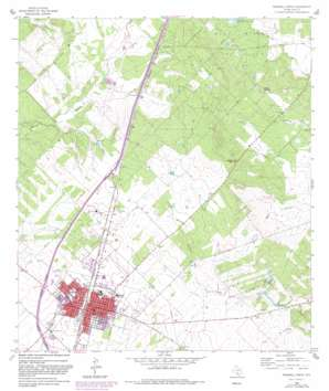 Pearsall North USGS topographic map 28099h1