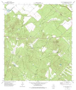Holcomb Reservoir topo map