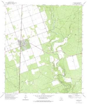 La Pryor USGS topographic map 28099h7