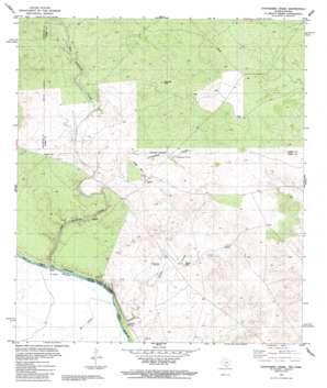 Chupadera Creek USGS topographic map 28100b1