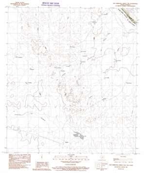 San Ambrosia Creek 3 Ne topo map