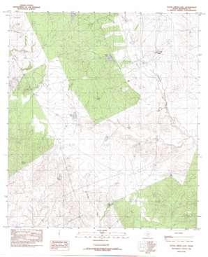 Tovar Creek East USGS topographic map 28100c2