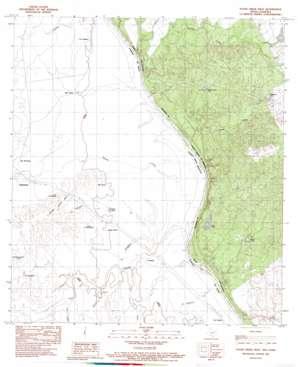 Tovar Creek West USGS topographic map 28100c3