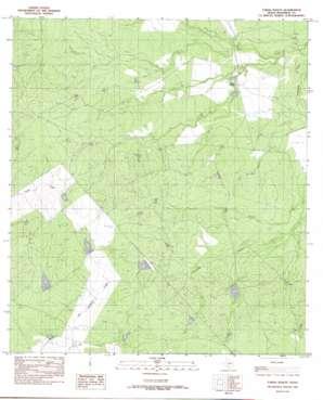 Farias Ranch topo map