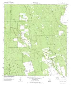 Chacon Creek Se USGS topographic map 28100g1