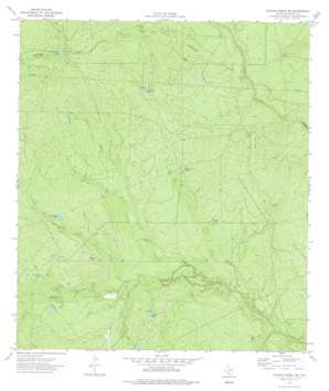 Chacon Creek Sw USGS topographic map 28100g2
