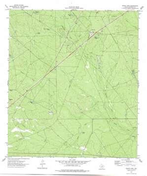 Indian Tank topo map