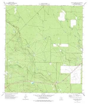 Chacon Creek Nw topo map